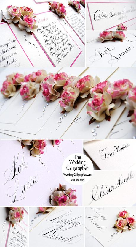 wedding calligraphy by claire