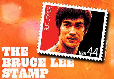 The Bruce Lee Stamp