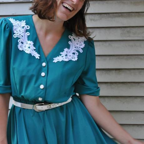 Shopping Little Bits of Vintage: my modeling career begins!