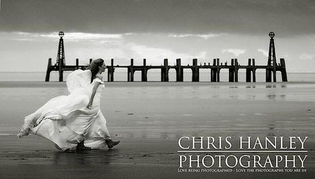 beachbride dress shoot by Chris Hanley Photography