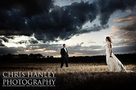 Dramatic portrait photography bridal shoot Chris Hanley