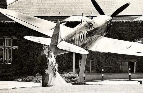 RAF fenneybentley wedding by photographer Chris Hanley