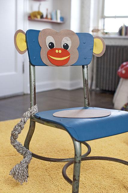 monkey chair (Amanda Kingloff in Parents June 2011)