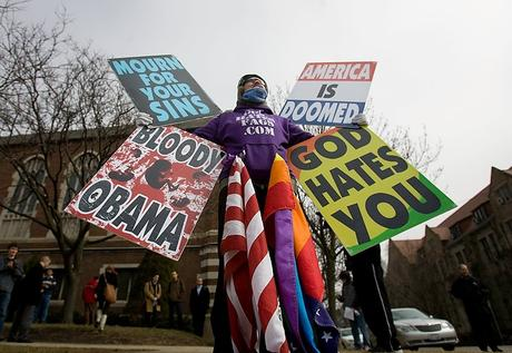 Ladies and Gentlemen, may I present to you the Westboro Baptist Church