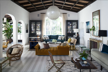 A glam Hollywood Hills home that somehow manages to also feel down to earth