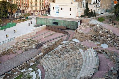 New Work ::: Visitor Centre of the Roman Theatre of Málaga