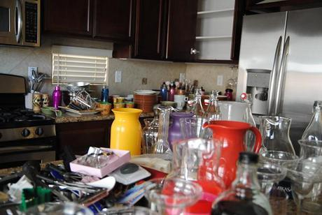 operation declutter the kitchen.