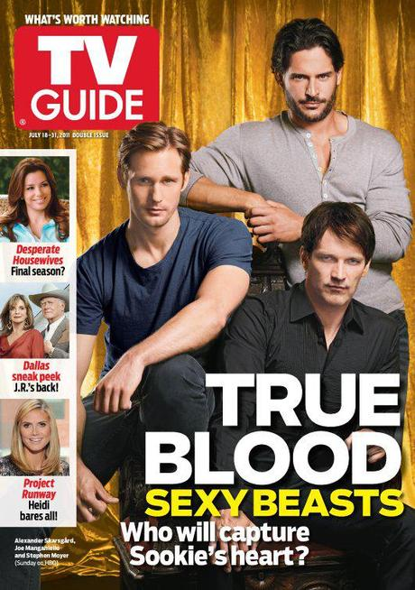 True Blood Sexy Beasts on cover of TV Guide Magazine