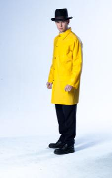 Kwanten as Griff in yellow raincoat (Indomina Releasing)