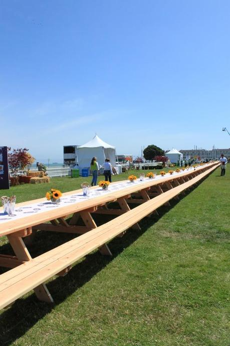 Safeway Open Nature Picnic & The World's Longest Picnic Table
