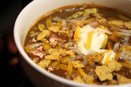 20 Minute Black Bean Soup