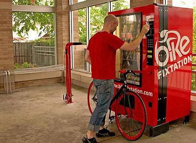 Self-Service Bicycle Vending Machine