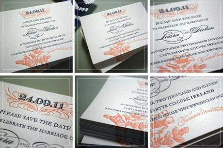 Bespoke vintage wedding stationery in the UK by Emma-Jo