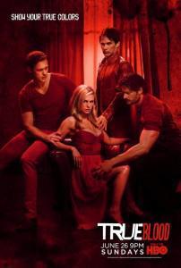 True Blood Season 4 Poster Bill Eric Sookie