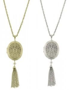 french tassel lockets1 231x300A Treasure Chest Full of Vintage Locket Necklaces!