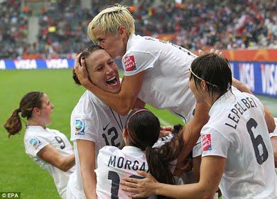 USA downs France, to face Japan in final