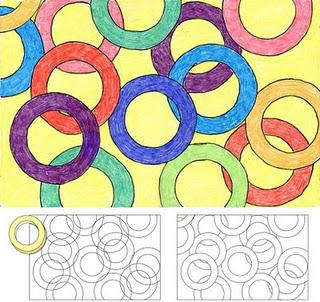 Overlapping Rings