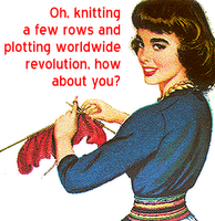 I Poked the Knitters' Nest