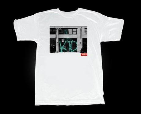 Kidult's 'Vandalized Supreme Store Front' T-Shirt