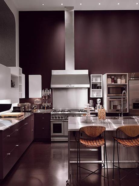 Lela Rose's kitchen in NYT