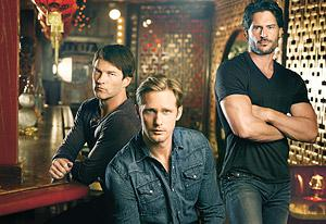 Stephen Moyer, Alexander Skarsgard, Joe Manganiello in TV Guide