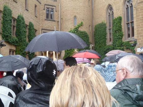 hohenzollern castle_rain