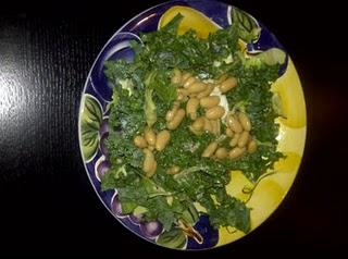 Kale and Cannelini Bean Salad