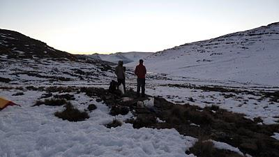 A Snowy Hike in the Drakensberg - June 2011