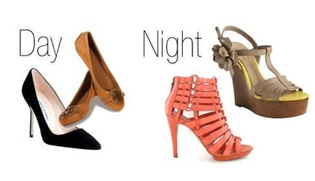 dayandnightshoes4 Easy Breezy Day to Night Fashion Tips!