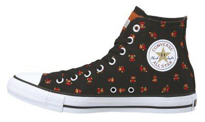 Super Mario Bros. Converse All Stars