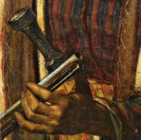 A Sanhagiah Warrior Hand Detail