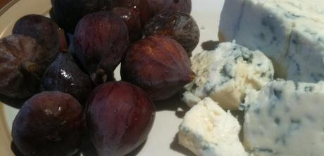 In season: figs with blue cheese