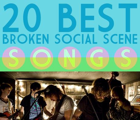 songsbss 20 FAVE BROKEN SOCIAL SCENE SONGS