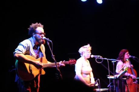 IMG 1936 550x366 PEARL AND THE BEARD, FRANZ NICOLAY PLAYED BROOKLYN [PHOTOS]