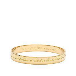 kate spade gold bracelet