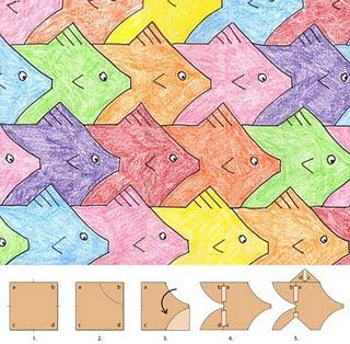 Fish Tessellation 43887 on Tessellation Cut Outs