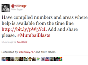 Google Docs Helps Mumbai After Blasts