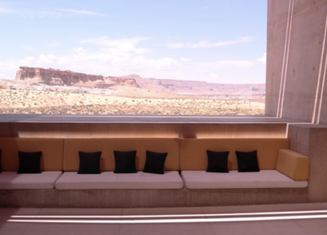 Canyon country, from the spectacular Amangiri Hotel