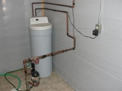 Softened water to entire house