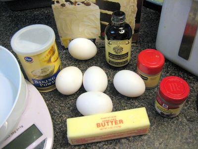 Tres Leches - Cake Ingredients