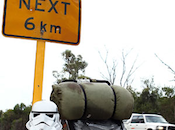 Imperial Trooper Takes Charitable Stroll
