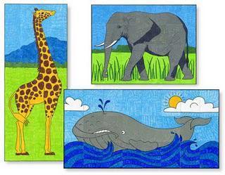 Mini Animal Mural Set