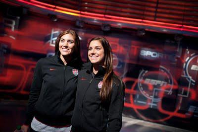 The US Women's National Team making the talk show circuit rounds