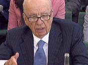 Rupert Murdoch Eats Humble Pie, Sustains Foam Attack Select Committee Hearing