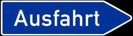 driving in germany_ausfahrt
