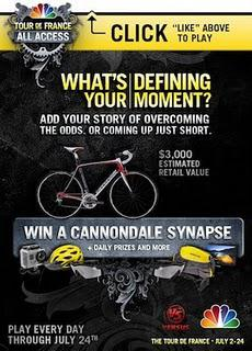 Win Prize TdF Prizes From Versus