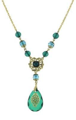 green emerald necklace