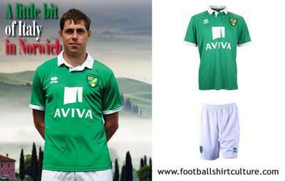 2011-12 Norwich City Away Shirt Released