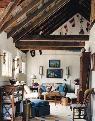 Interior obsession summer cabin paperblog Boat interior design ideas home