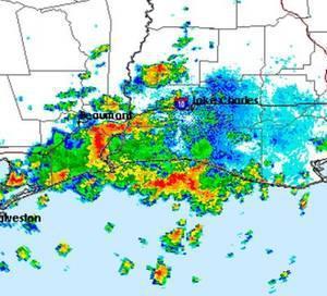 Thunderstorm on Radar